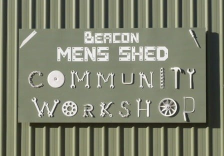 Mens Shed sign