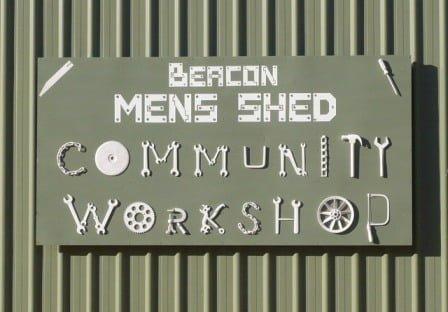 Mens Shed sign