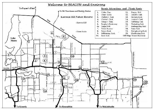 Beacon Map