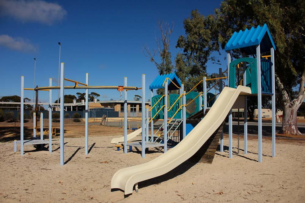 playground equipment at the Beacon Centenary Playground