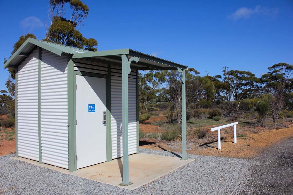 new condition Beacon Public Toilet in a remote area