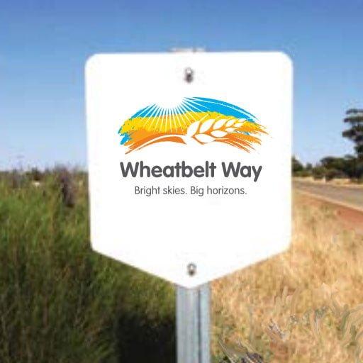 the wheatbelt way sign